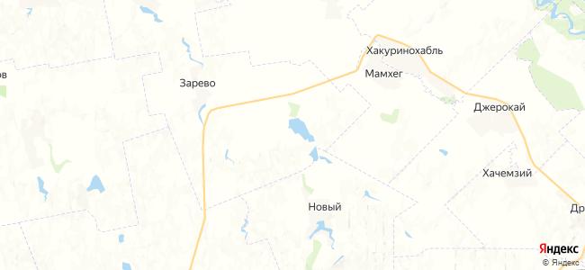 Михайлов на карте