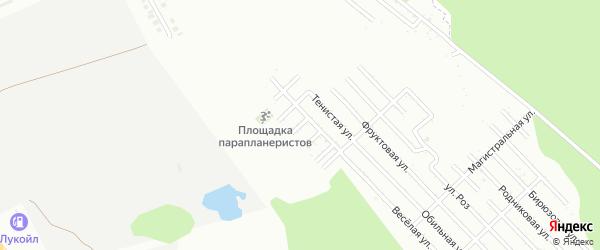 Зеленая улица на карте Джанатана с номерами домов