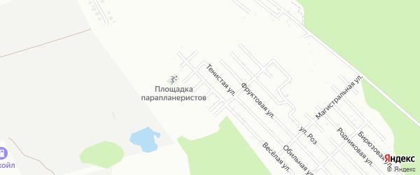 Обрывная улица на карте Майкопа с номерами домов