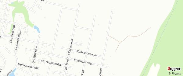 Черкесская улица на карте Майкопа с номерами домов