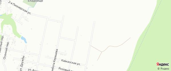 Абадзехская улица на карте Майкопа с номерами домов