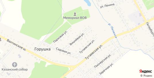 Вишневая улица в Данилове с номерами домов на карте. Спутник и схема онлайн