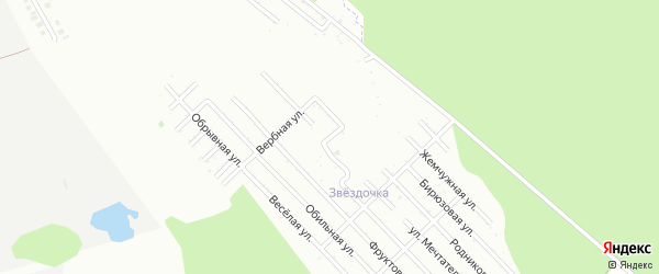 Луговая улица на карте Южного с номерами домов
