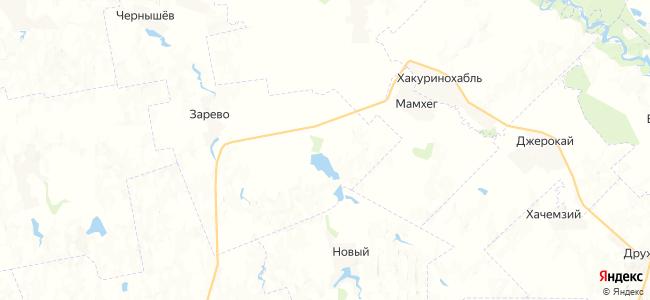 Лейбоабазов на карте