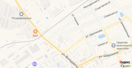 Ветеринарный переулок в Данилове с номерами домов на карте. Спутник и схема онлайн