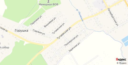 Тутаевская улица в Данилове с номерами домов на карте. Спутник и схема онлайн
