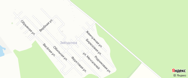 Жемчужная улица на карте Пищевик-1 с номерами домов