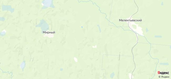 Погаринская на карте