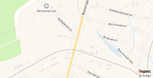 Вологодская улица в Данилове с номерами домов на карте. Спутник и схема онлайн