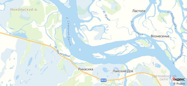 Питяево на карте