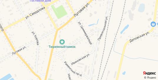 Новорыбинская улица в Данилове с номерами домов на карте. Спутник и схема онлайн