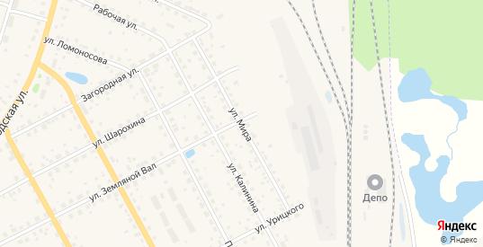 Улица Мира в Данилове с номерами домов на карте. Спутник и схема онлайн