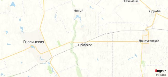 Образцовое на карте
