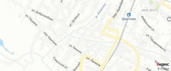 Улица 12 Декабря на карте Шахт с номерами домов