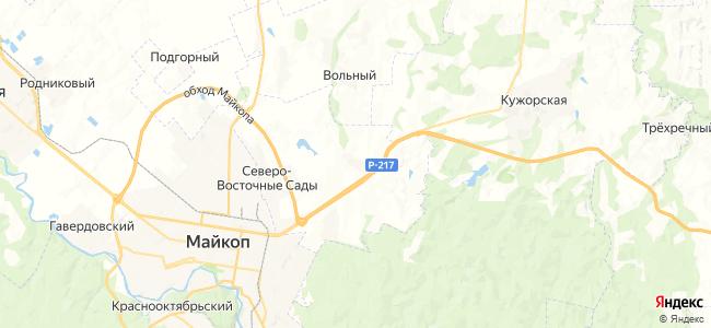 Грозный на карте