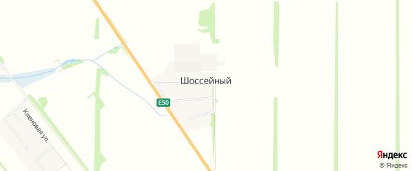 Карта Шоссейного поселка в Краснодарском крае с улицами и номерами домов