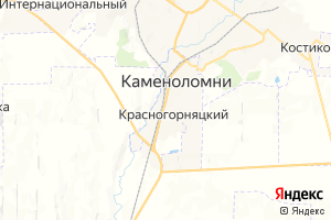 Карта пос. Каменоломни Ростовская область