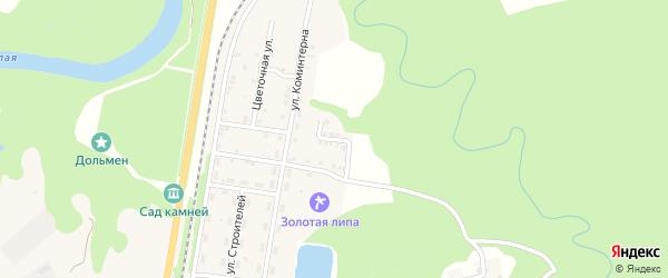 Новая улица на карте Каменномостского поселка с номерами домов