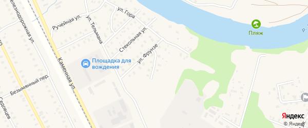 Улица Свердлова на карте Харовска с номерами домов