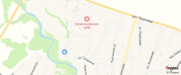 Улица Л.Н.Коблевой на карте аула Хакуринохабля Адыгеи с номерами домов