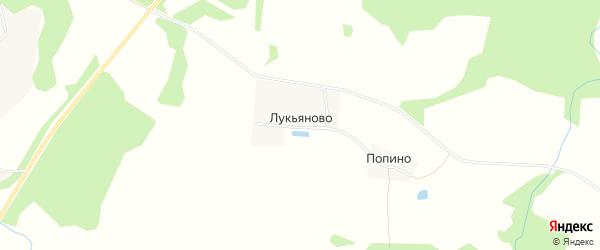 Карта деревни Лукьяново в Ивановской области с улицами и номерами домов