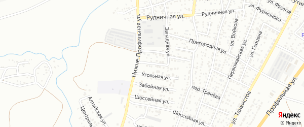 Улица Газовиков на карте Каменска-Шахтинского с номерами домов