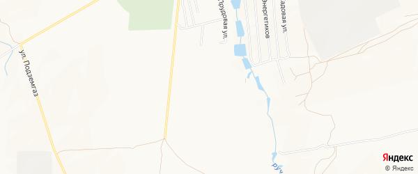 Карта садового некоммерческого товарищества Изобильного города Каменска-Шахтинского в Ростовской области с улицами и номерами домов