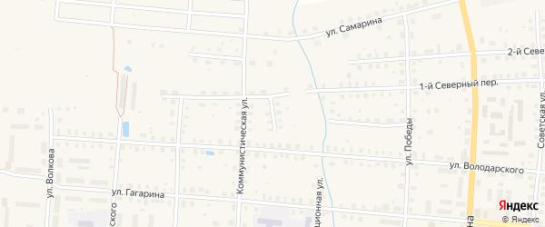 Новый переулок на карте Грязовца с номерами домов