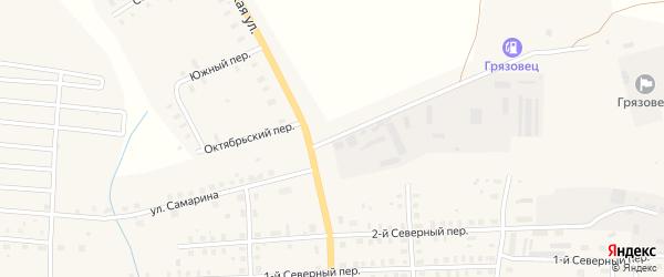 Улица Самарина на карте Грязовца с номерами домов