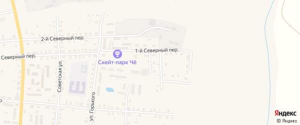 Дальний переулок на карте Грязовца с номерами домов