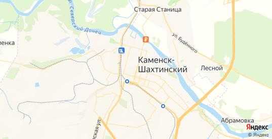 Карта Каменска-Шахтинского с улицами и домами подробная. Показать со спутника номера домов онлайн