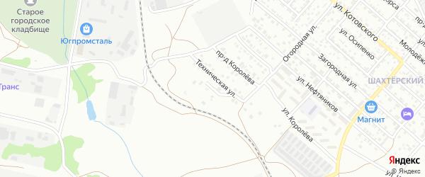 Верхняя улица на карте садового некоммерческого товарищества Дружба-1 с номерами домов