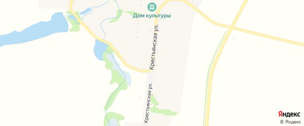 Крестьянская улица на карте Днепровского хутора с номерами домов
