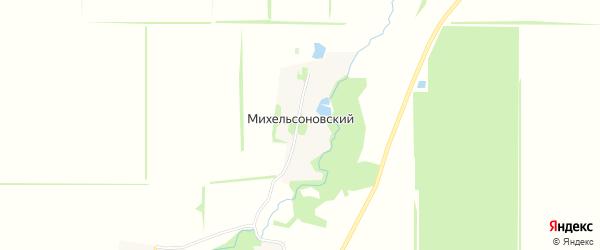 Карта Михельсоновского хутора в Адыгее с улицами и номерами домов