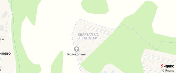 2-й квартал на карте Радужного с номерами домов
