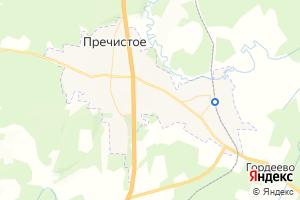 Карта пос. Пречистое Ярославская область