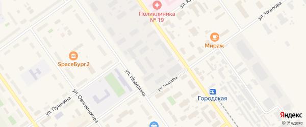 Площадь имени М.В.Фрунзе на карте Мирного с номерами домов