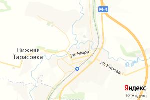 Карта пос. Тарасовский Ростовская область