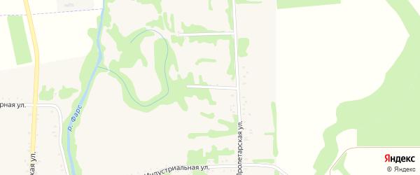 Фестивальная улица на карте Сергиевского села Адыгеи с номерами домов
