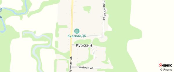 Выгонная улица на карте Курского хутора Адыгеи с номерами домов