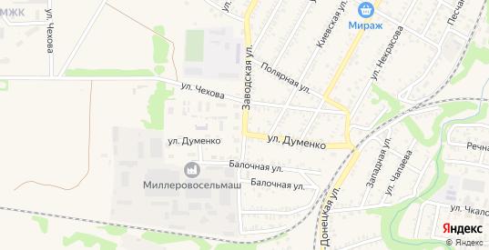 Заводская улица в Миллерово с номерами домов на карте. Спутник и схема онлайн