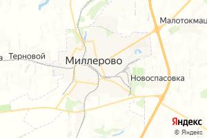 Карта г. Миллерово Ростовская область