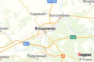 Карта г. Владимир Владимирская область