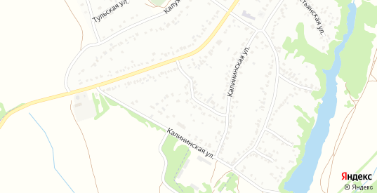 Калининская улица в Мичуринске с номерами домов на карте. Спутник и схема онлайн