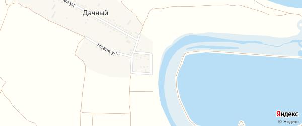 Набережная улица на карте Дачного поселка Ростовской области с номерами домов
