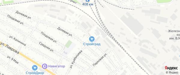 Фабричная улица на карте Мичуринска с номерами домов