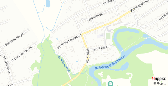 1 Мая улица в Мичуринске с номерами домов на карте. Спутник и схема онлайн