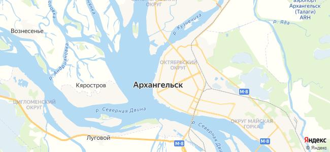 Троицкий на карте