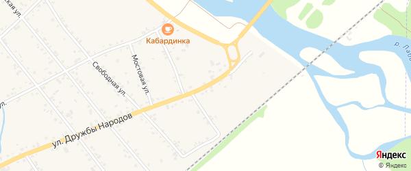 Дорога А/Д Кошехабль-Курганинск на карте аула Кошехабль Адыгеи с номерами домов