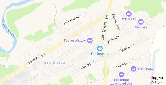 Советский переулок в Богучаре с номерами домов на карте. Спутник и схема онлайн